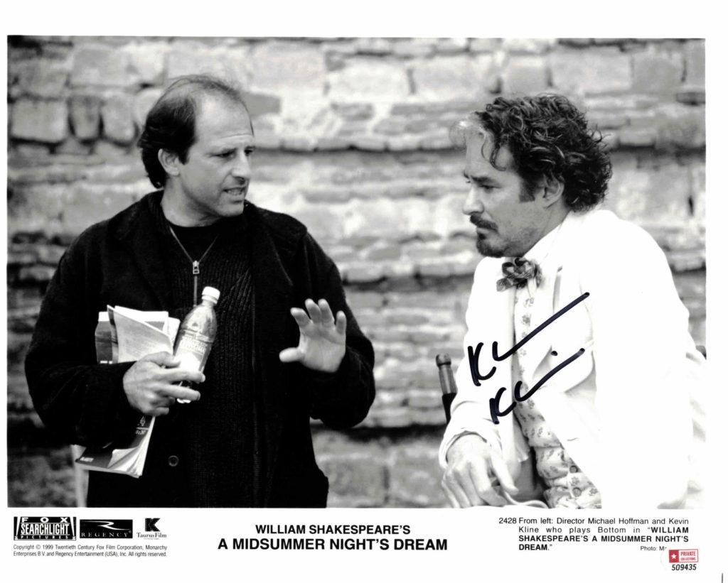 Kevin Kline - autogram
