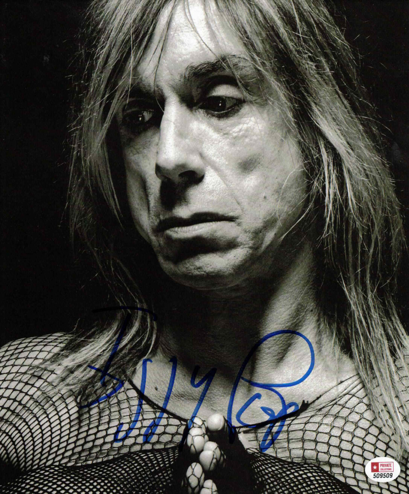 Iggy Pop - autogram