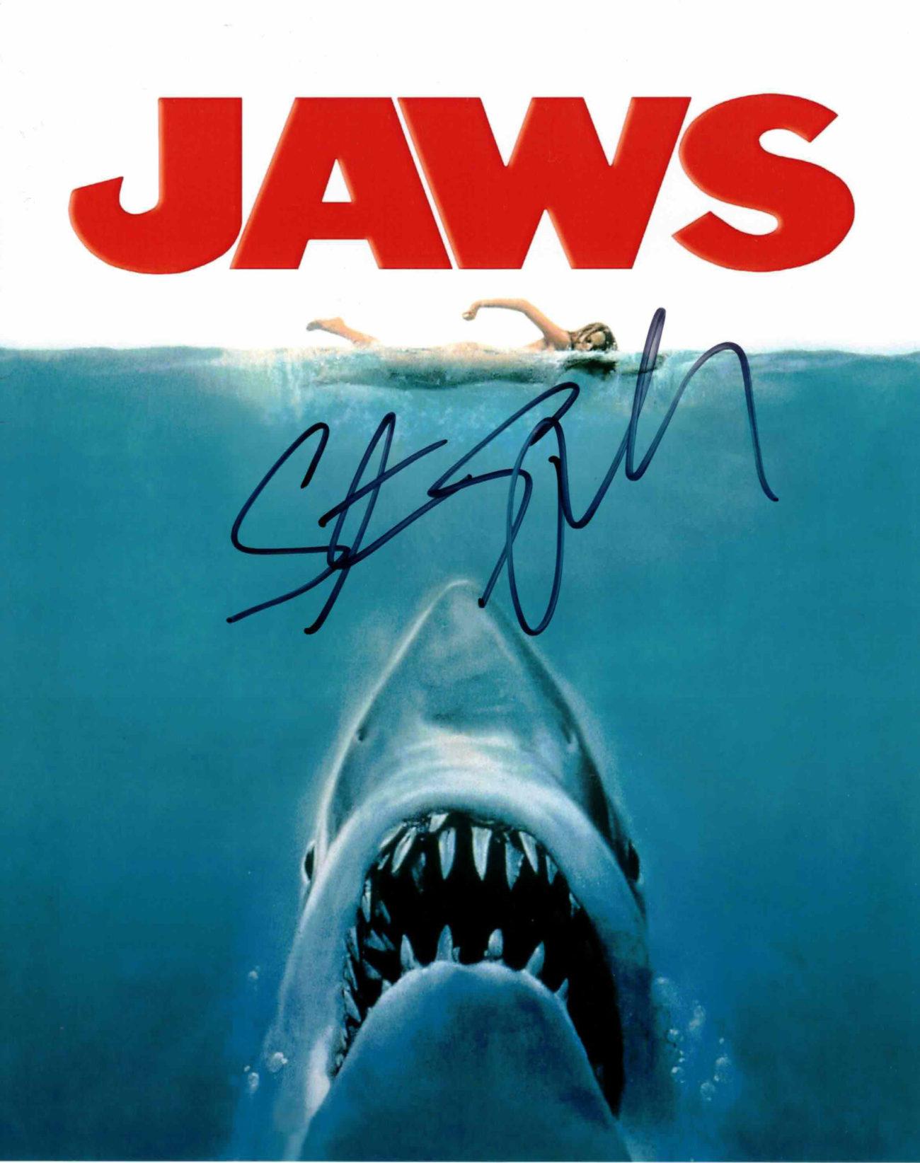 Steven Spielberg / Čelisti - autogram