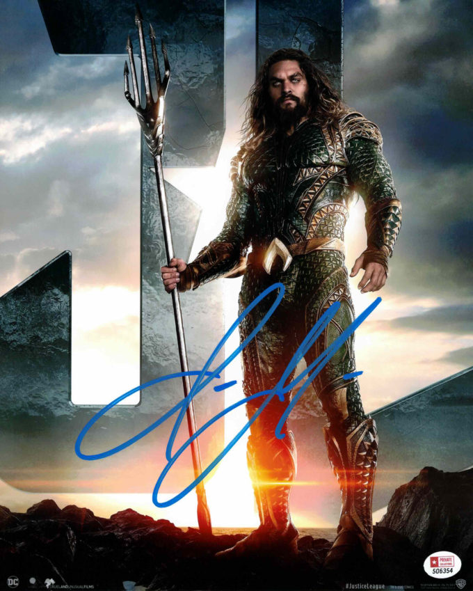 Jason Momoa / Aquaman - autogram