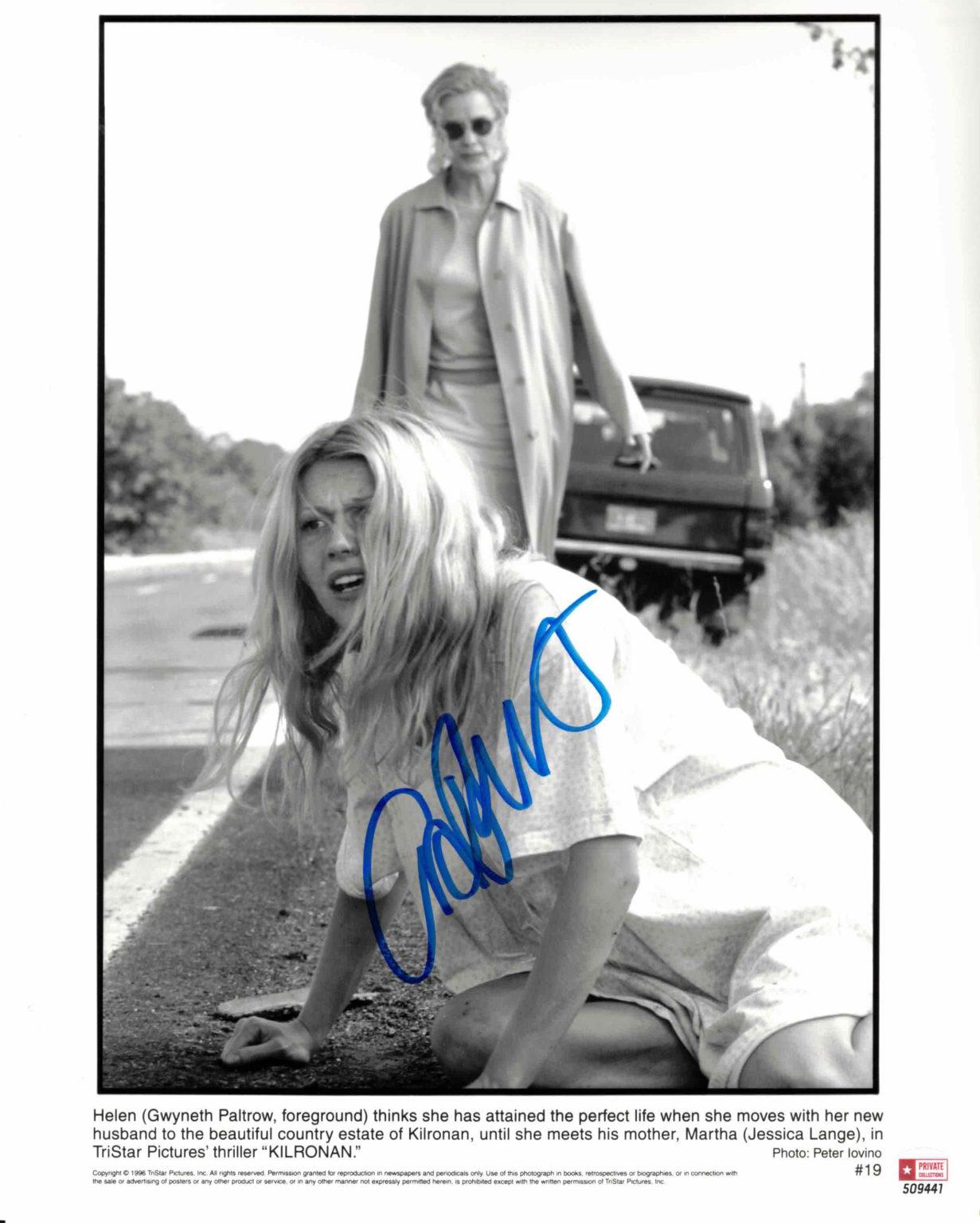 Gwyneth Paltrow - autogram