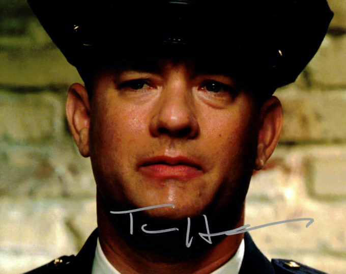 Tom Hanks - autogram