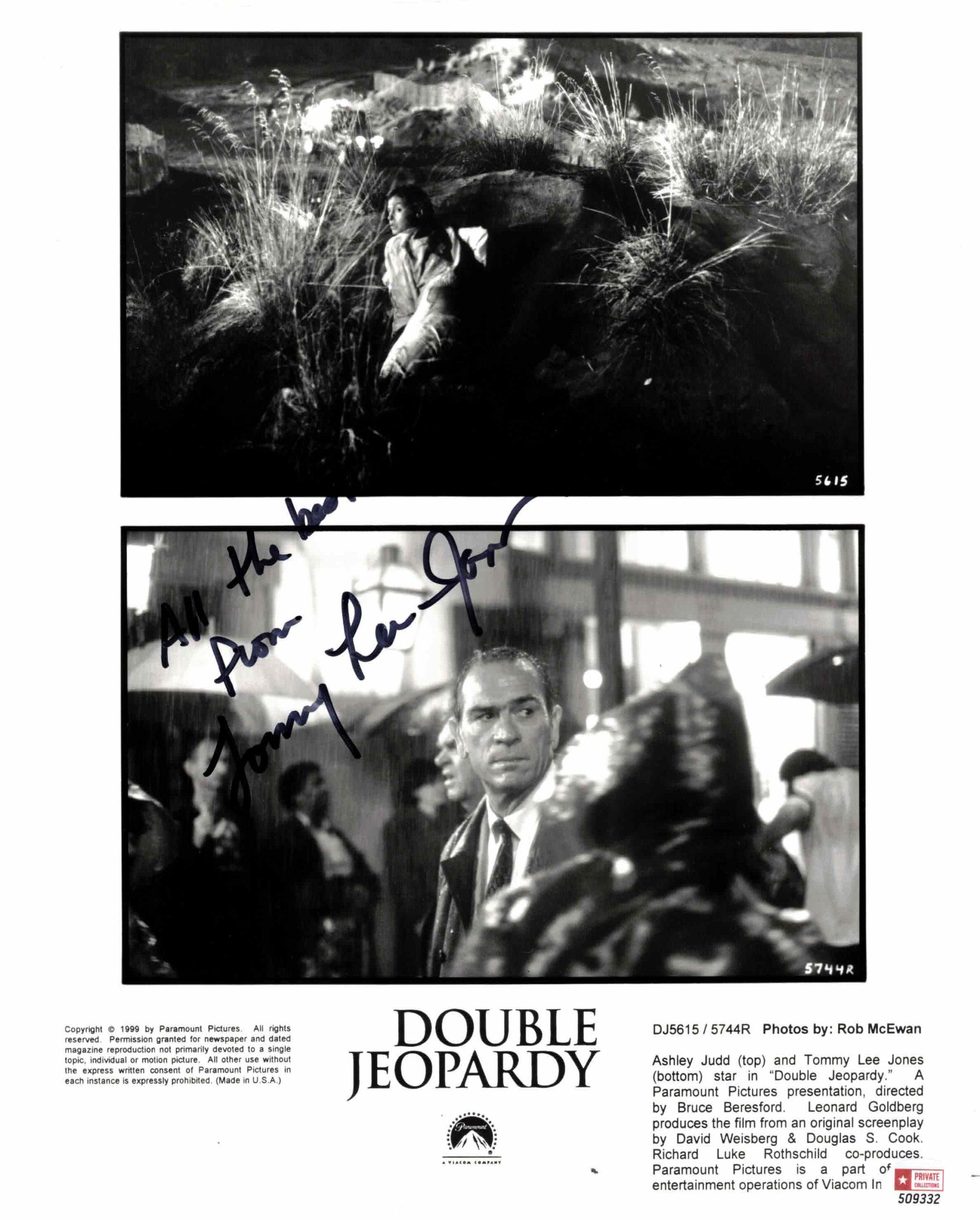 Tommy Lee Jones - autogram