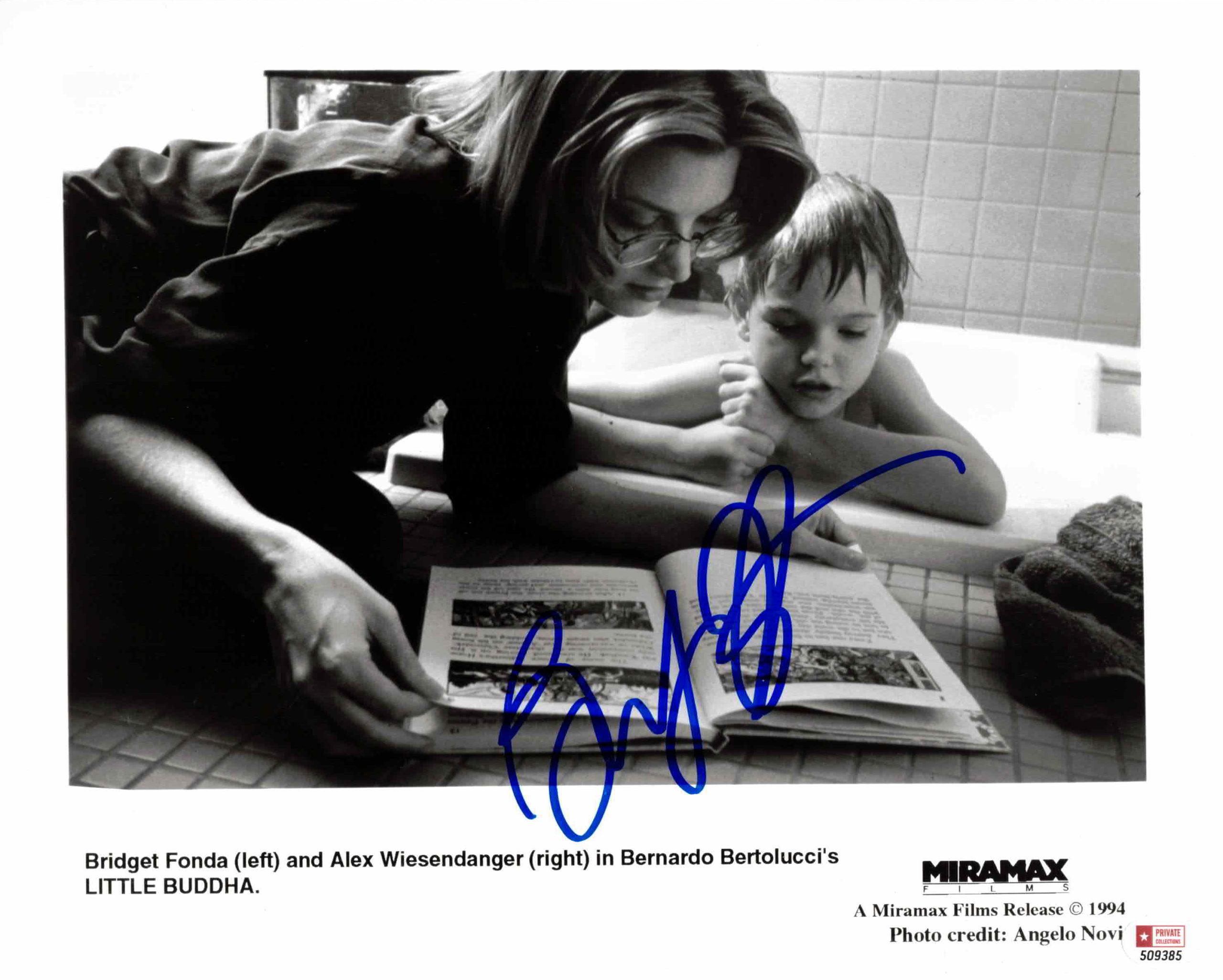 Bridget Fonda - autogram