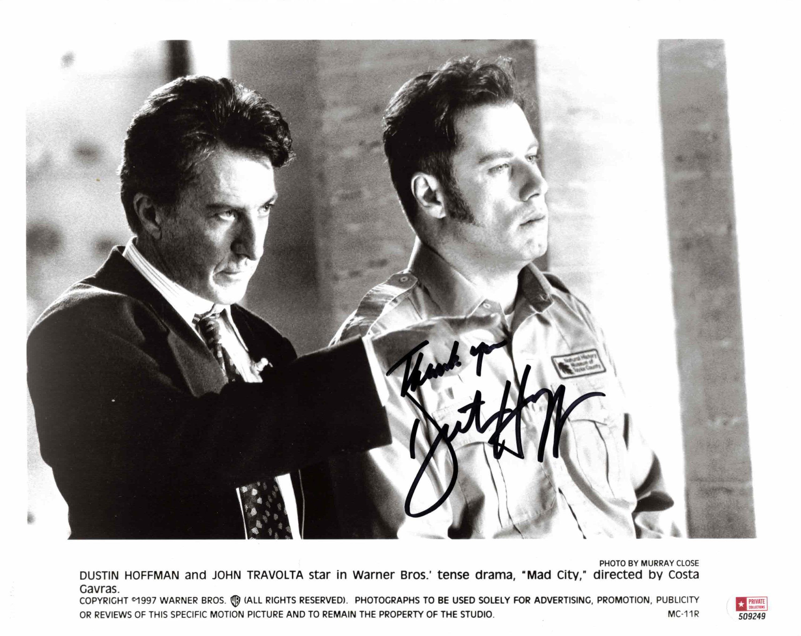 Dustin Hoffman - autogram