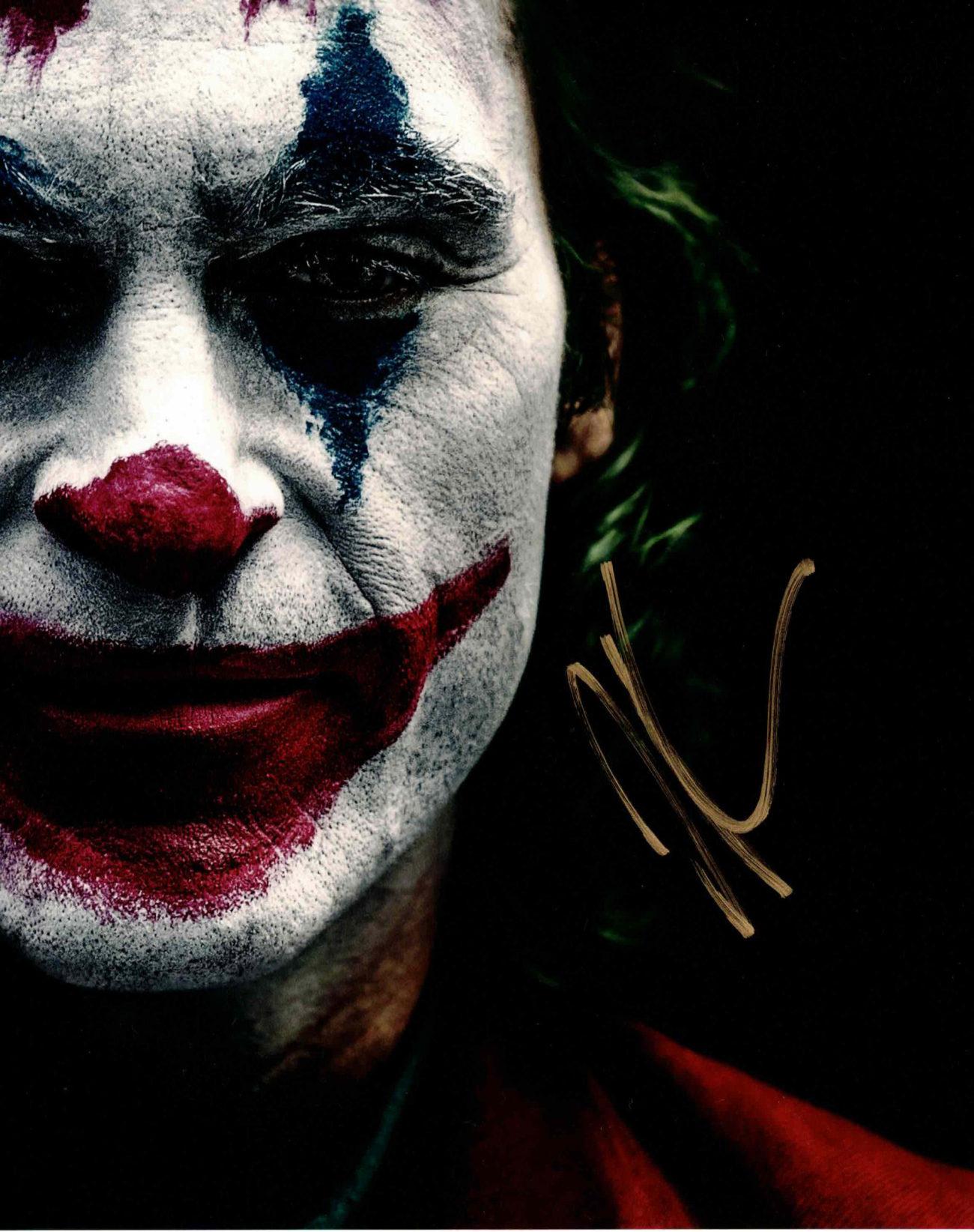 Joaquin Phoenix / Joker - autogram