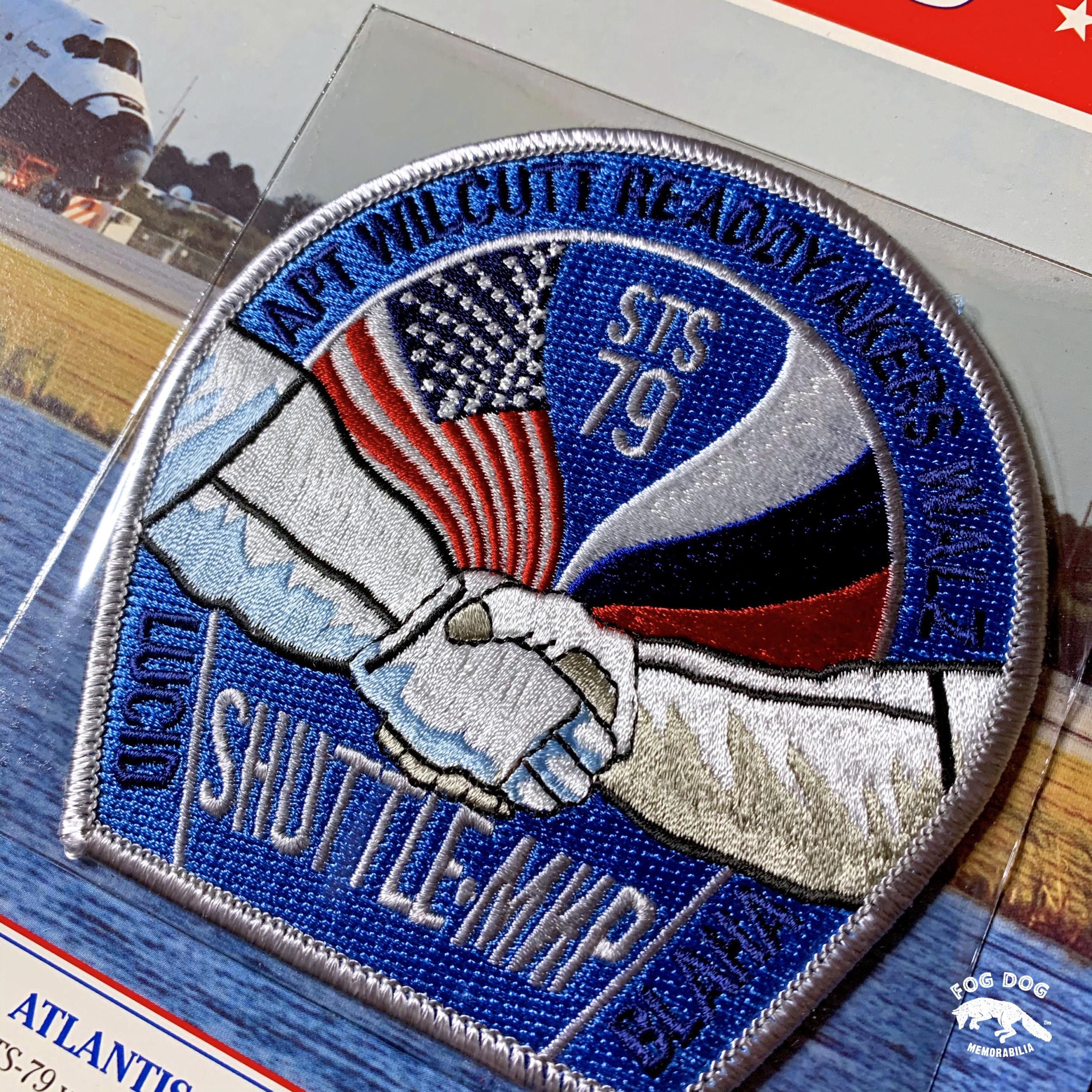 Oficiální textilní nášivka NASA - ATLANTIS STS-79