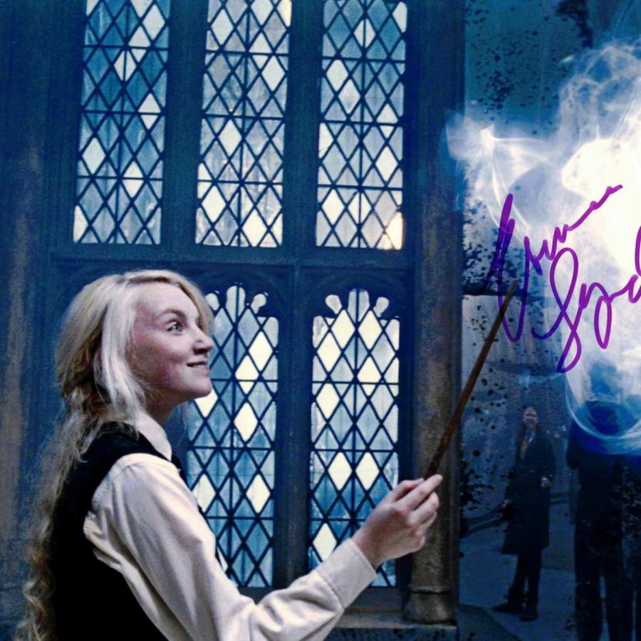 Evanna Lynch / Harry Potter - autogram