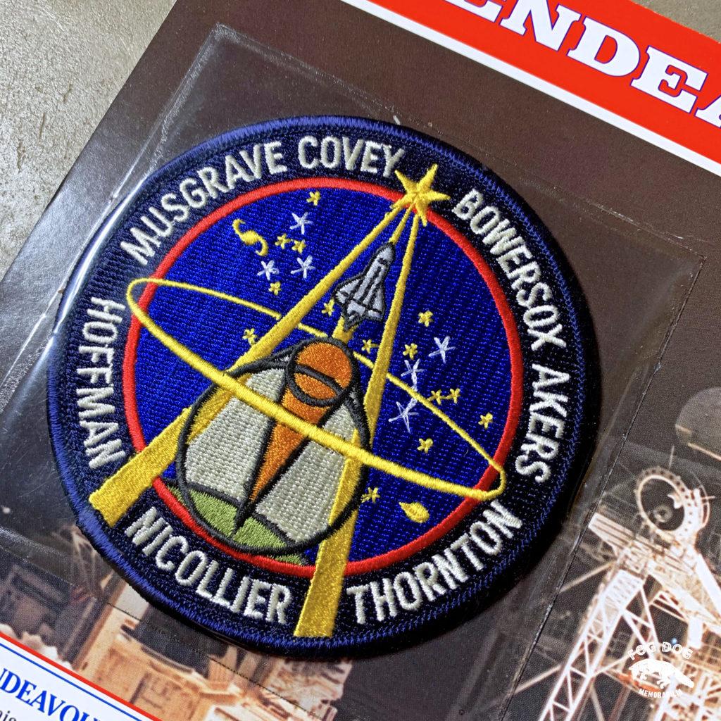 Oficiální textilní nášivka NASA - ENDEAVOUR STS-61