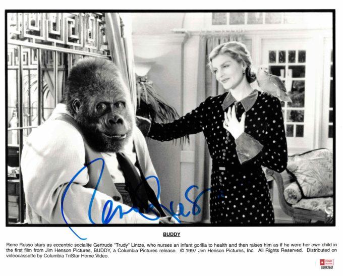 Rene Russo - autogram