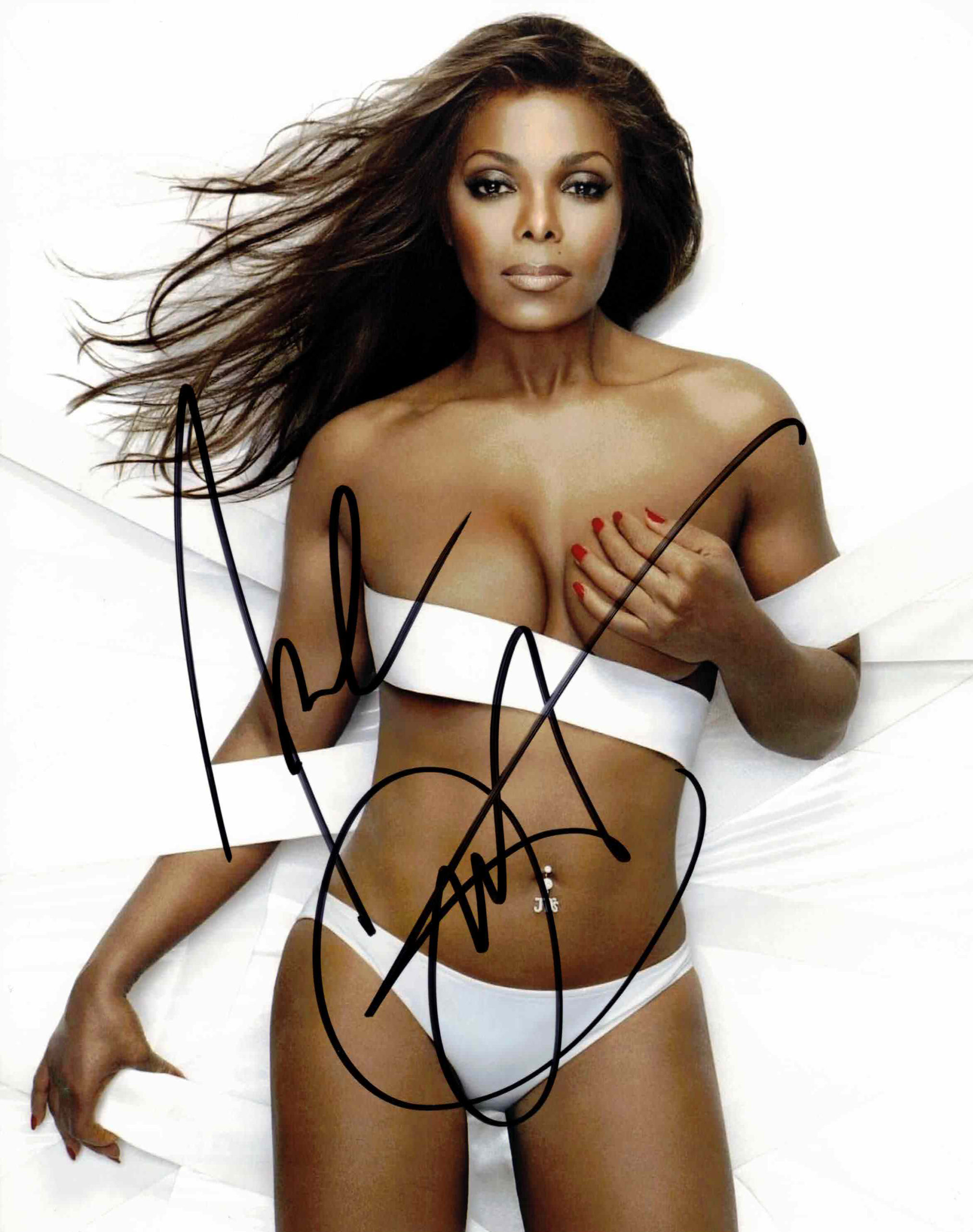 Janet Jackson - autogram