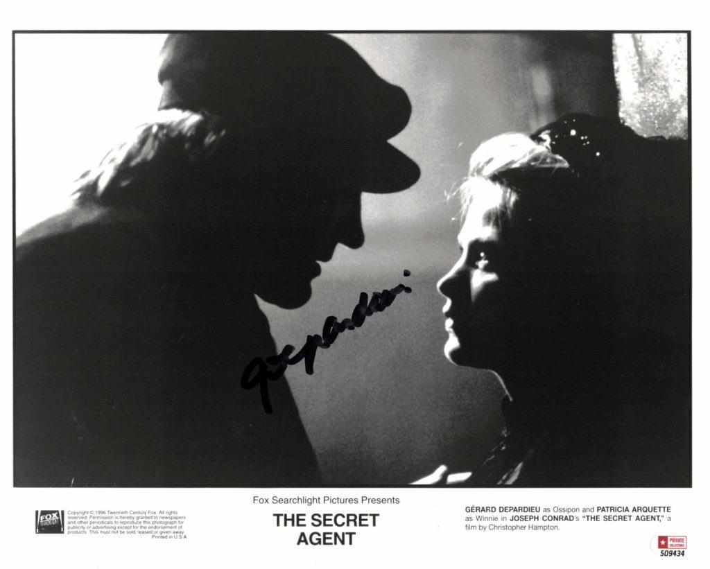 Gerard Depardieu - autogram