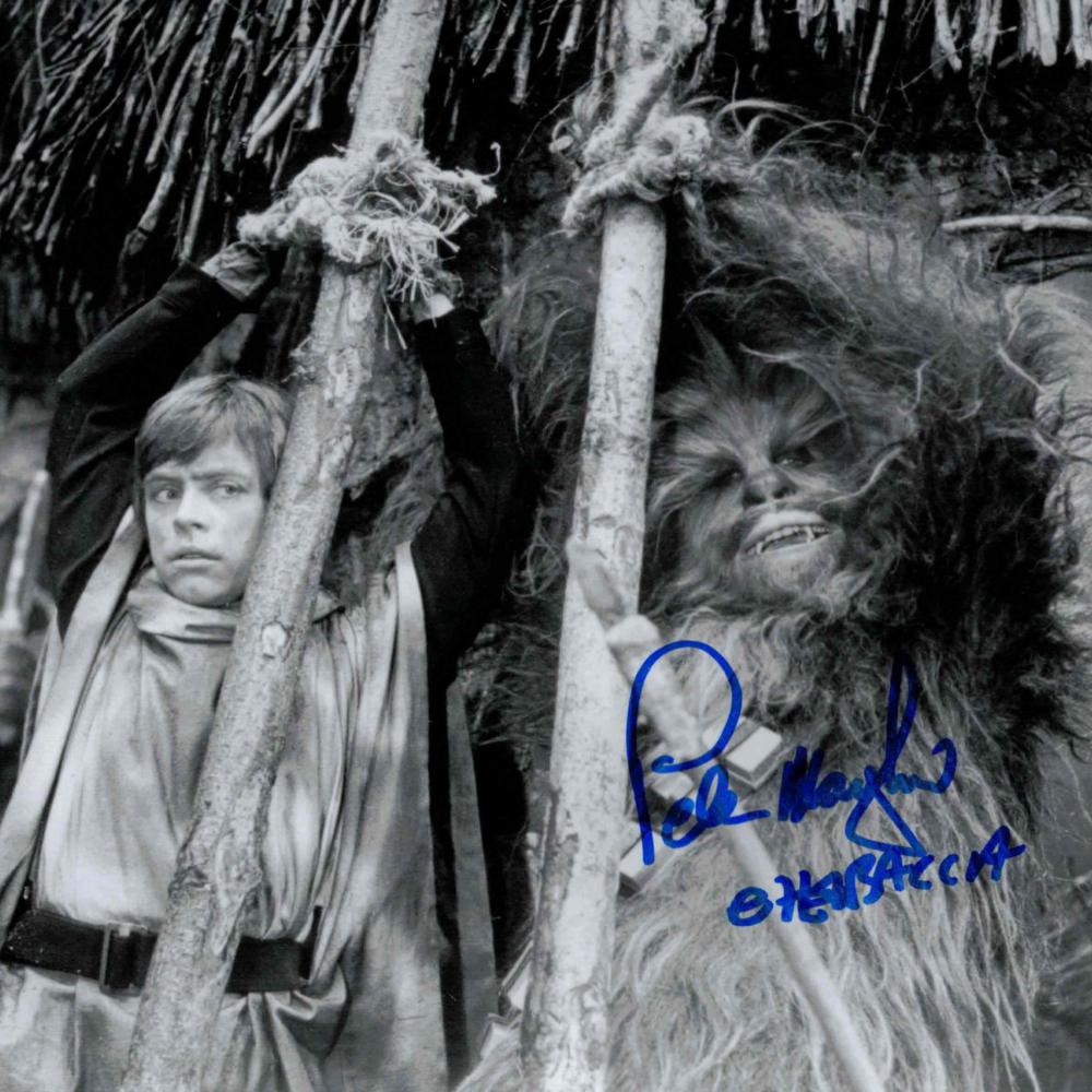 Peter Mayhew / Chewbacca, Hvězdné války - autogram