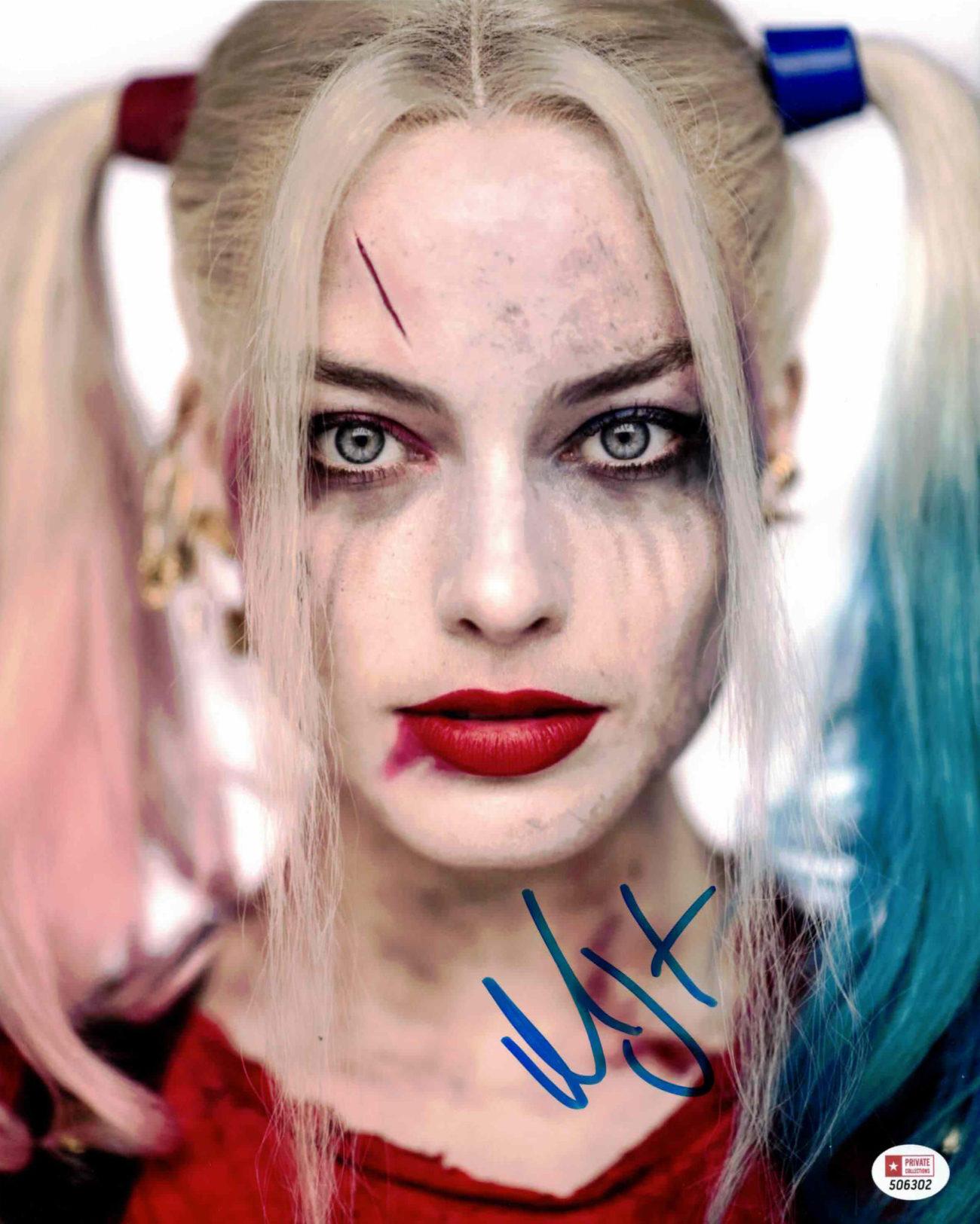 Margot Robbie / Sebevražedný oddíl - autogram