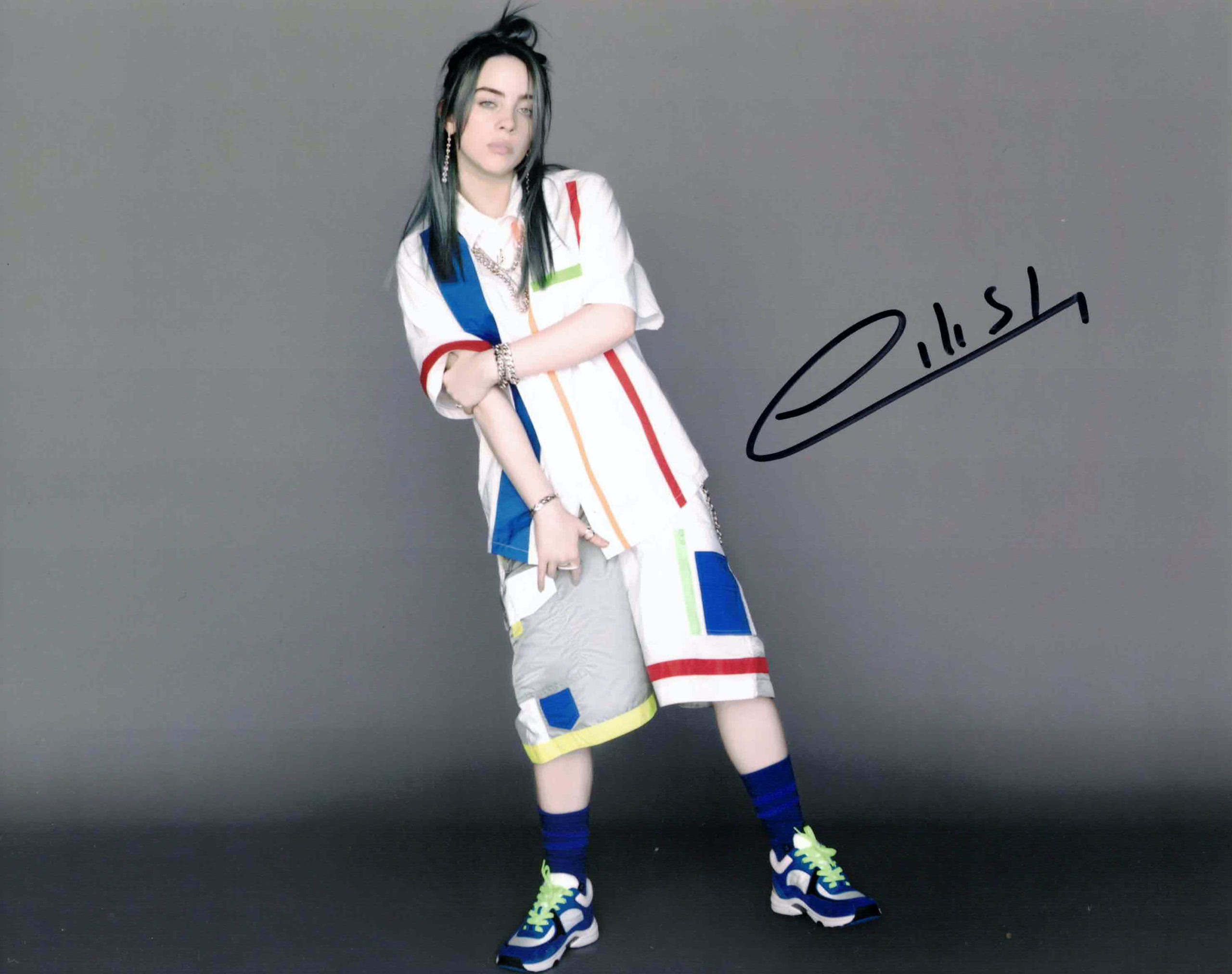 Billie Eilish - autogram