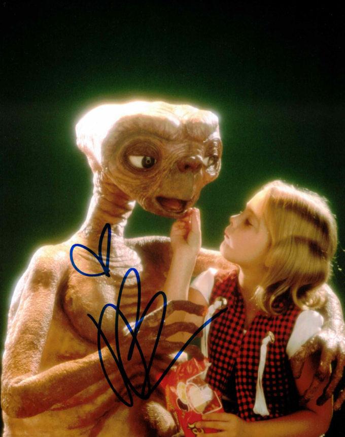 Drew Barrymore / E.T. - autogram
