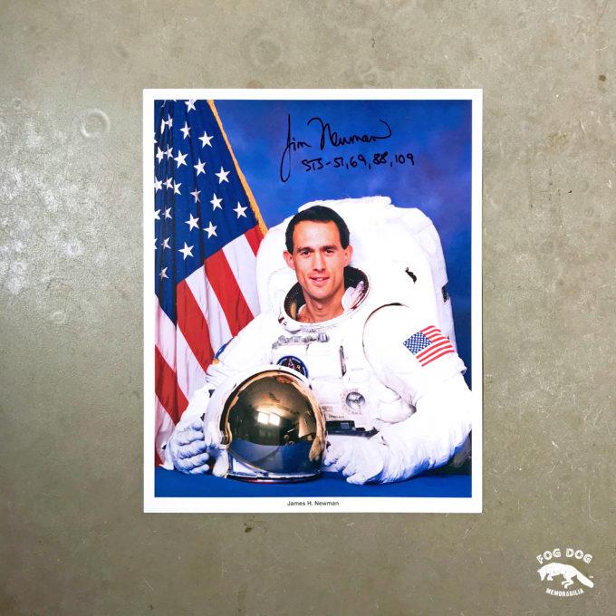 Autogram / astronaut Jim Newman