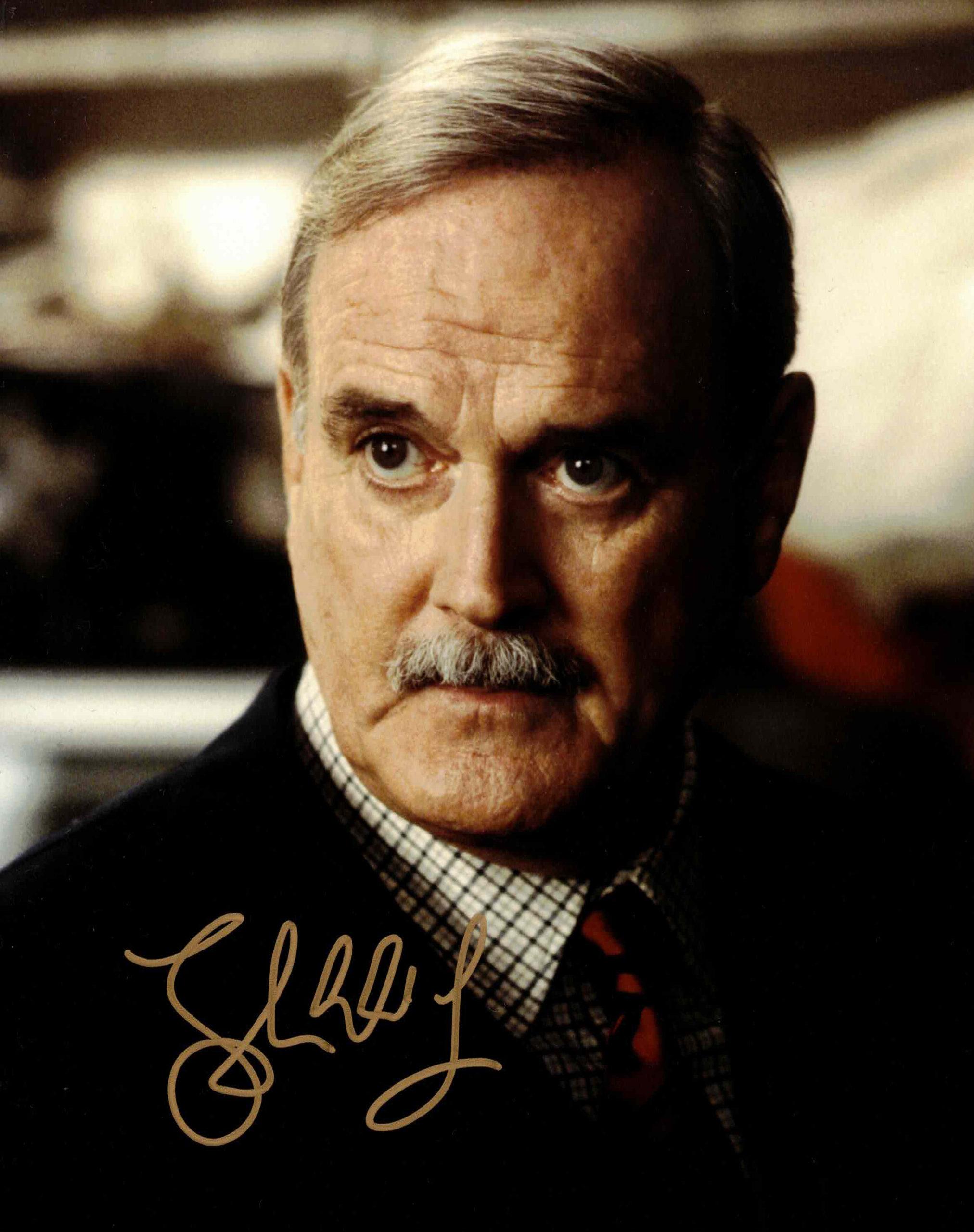 John Cleese - autogram