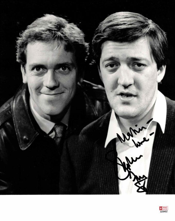 Stephen Fry - autogram