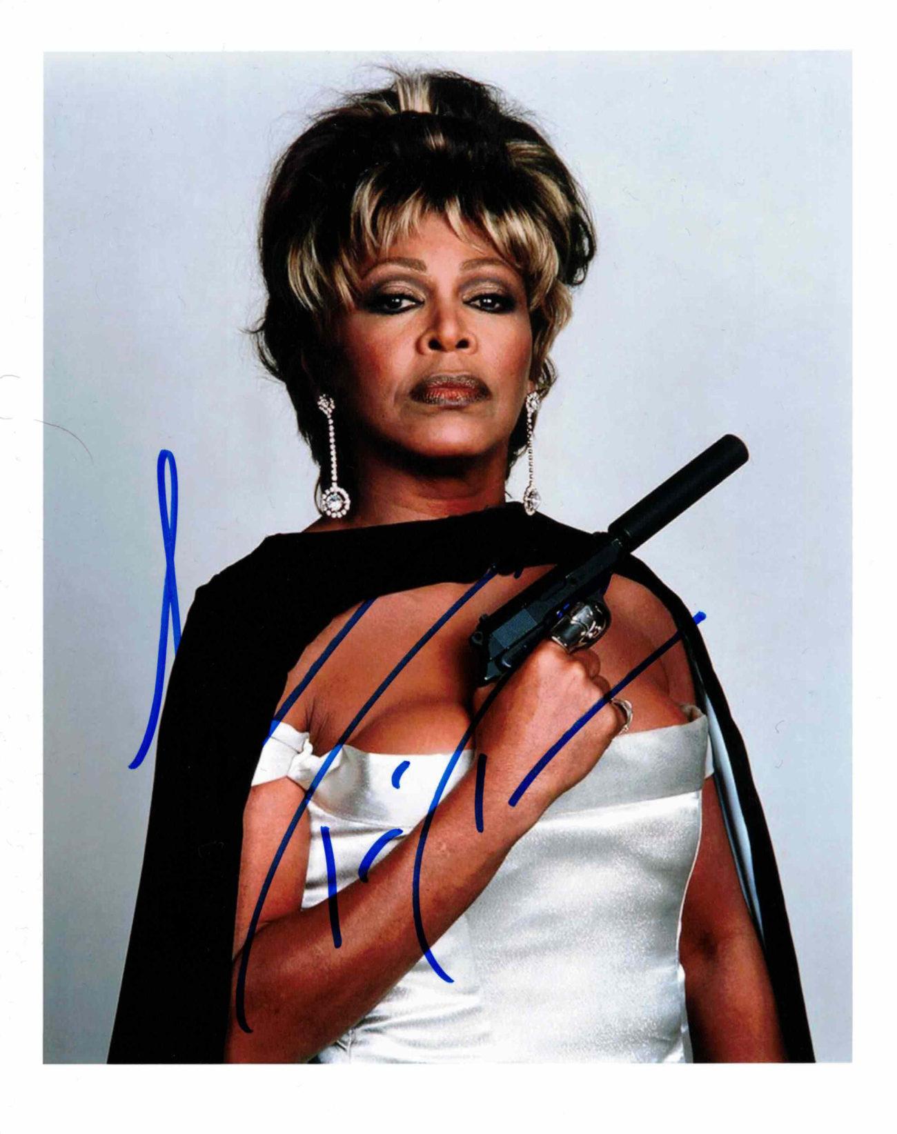 Tina Turner - autogram