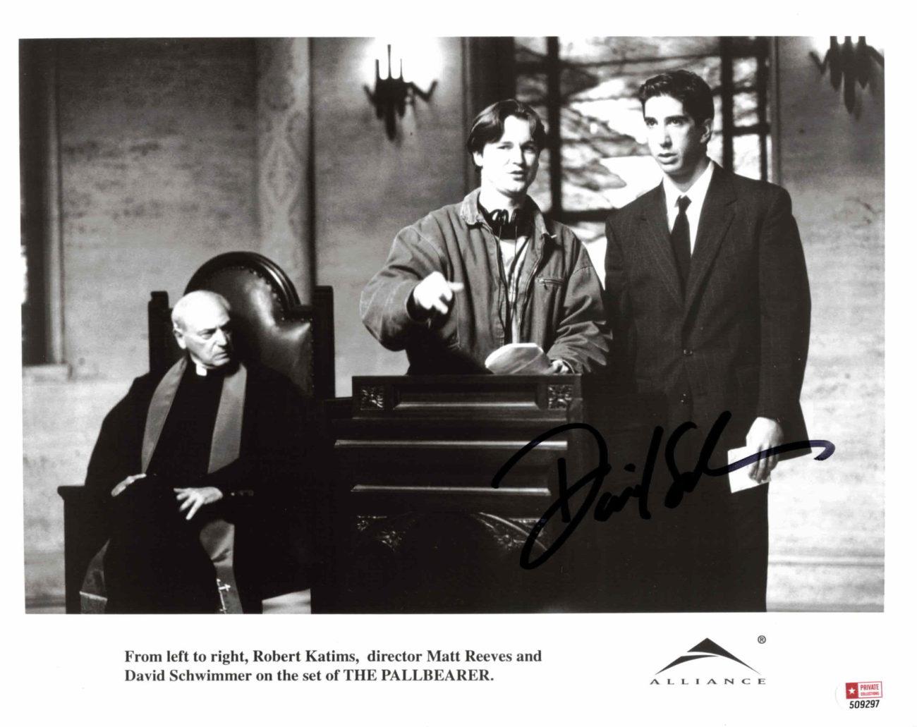 David Schwimmer - autogram