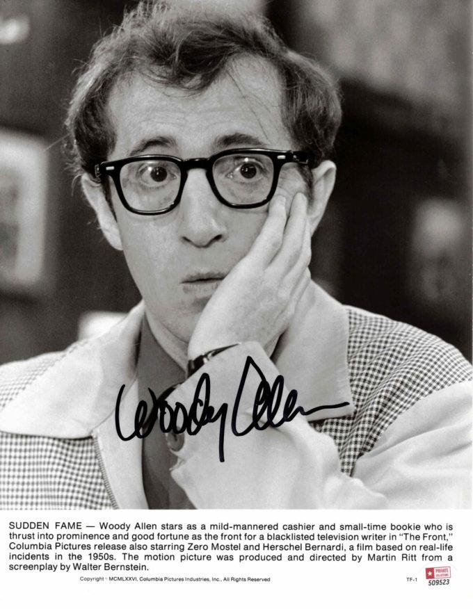 Woody Allen - autogram