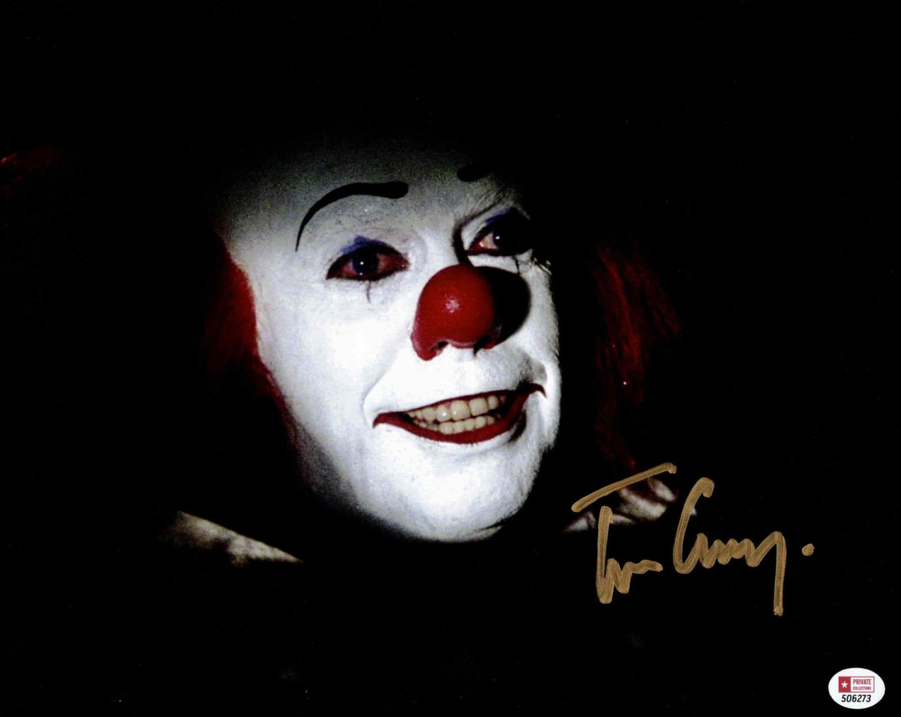Tim Curry / TO - autogram