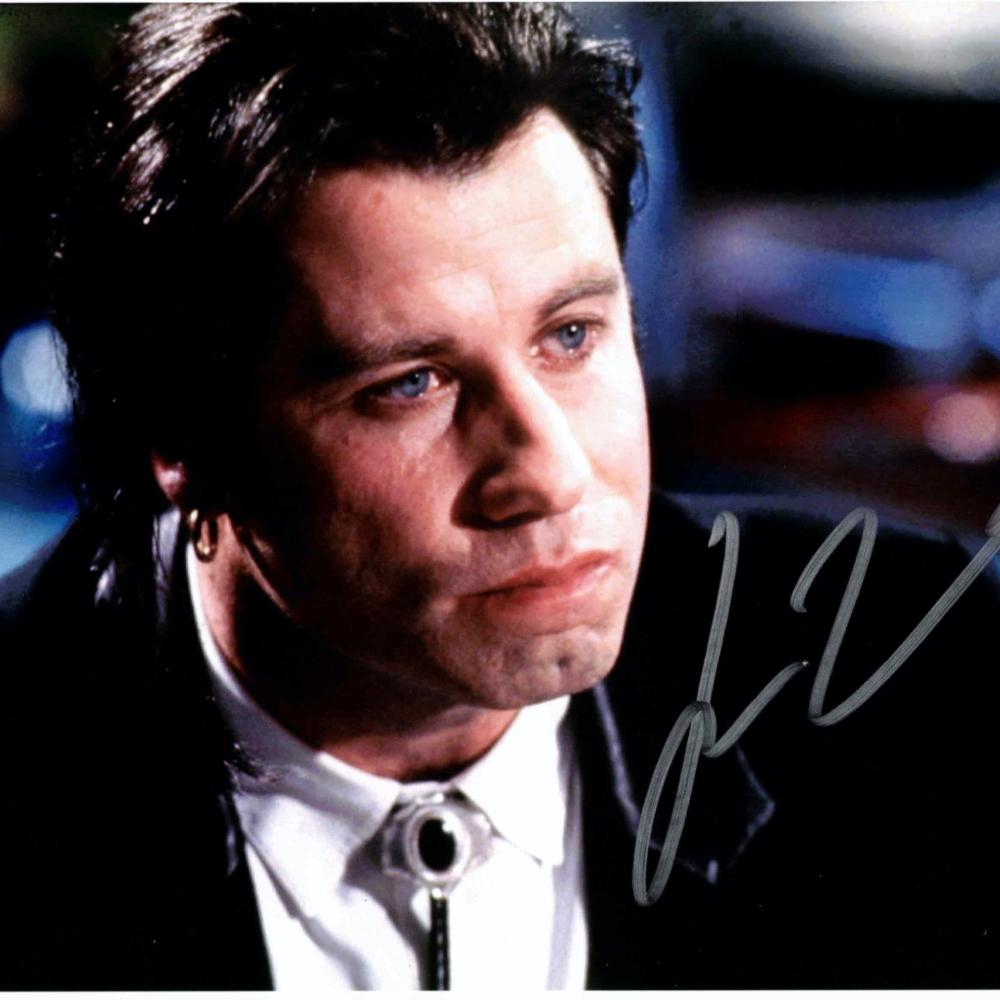 John Travolta / PULP FICTION - autogram