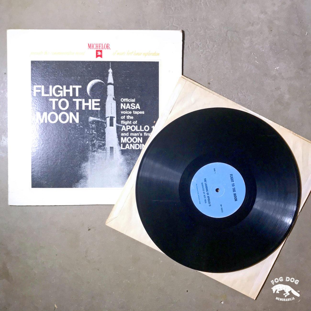 LP deska FLIGHT TO THE MOON - oficiální nahrávka