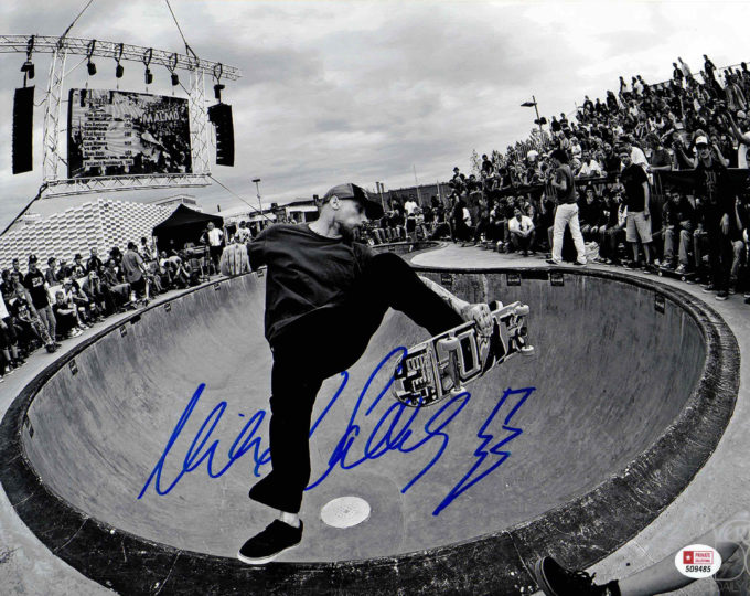 Mike Vallely - autogram