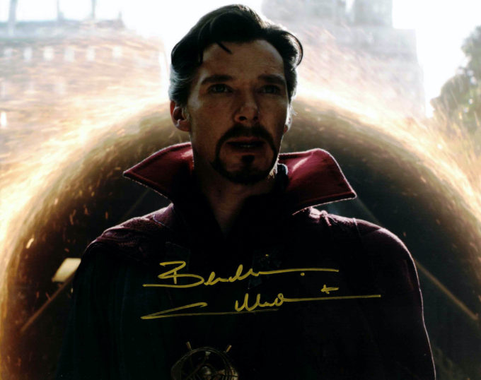 Benedict Cumberbatch / Doctor Strange - autogram