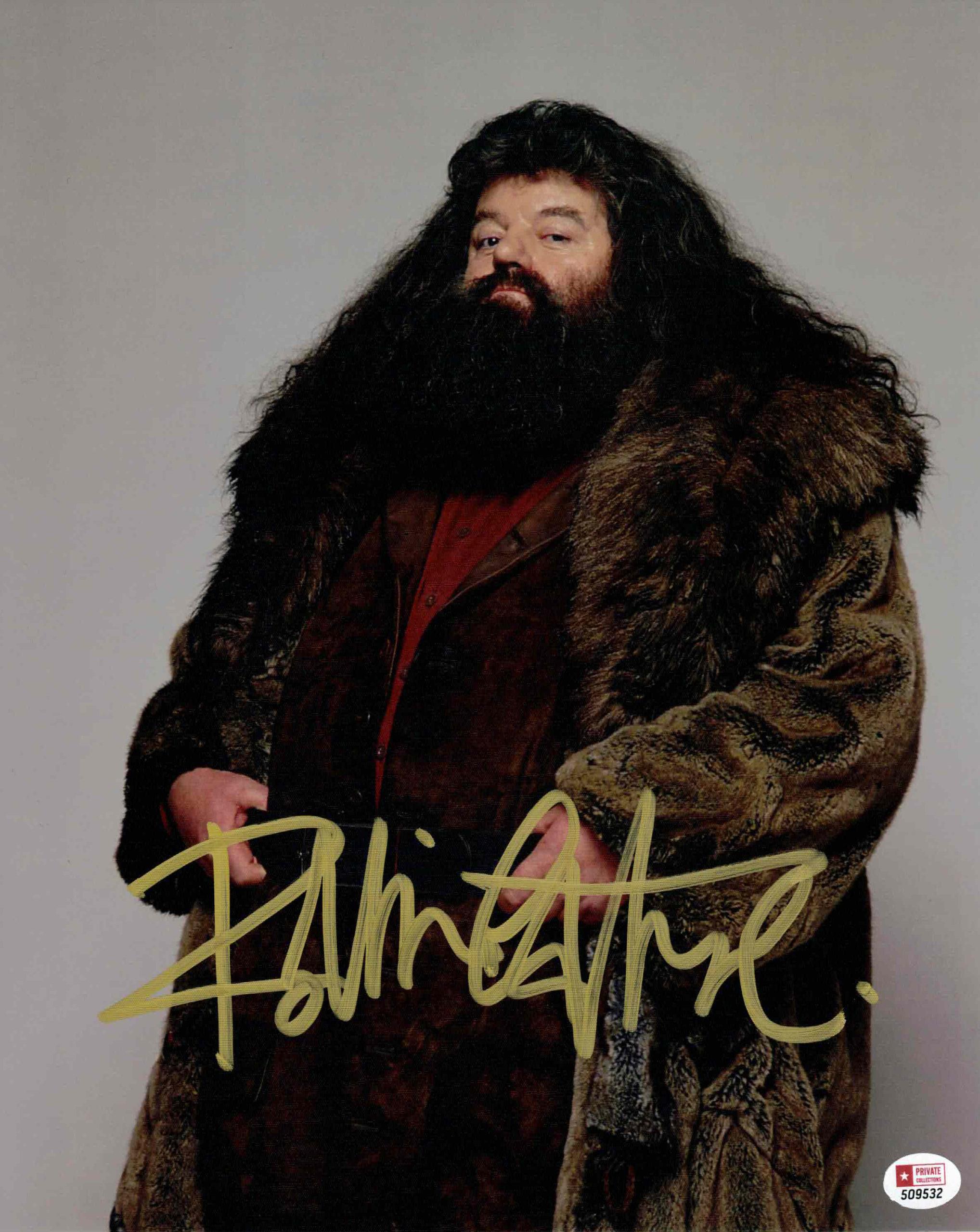 Robbie Coltrane / Hagrid, Harry Potter - autogram