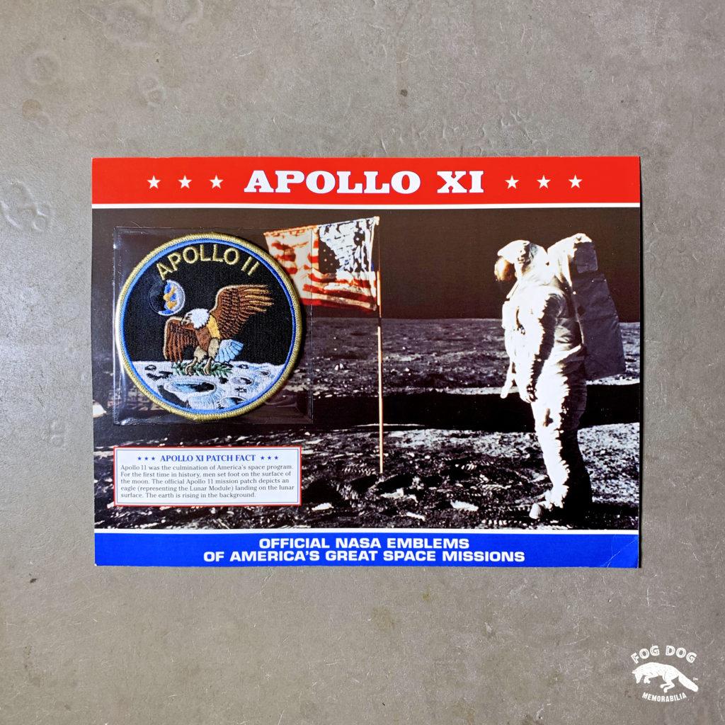 Oficiální textilní nášivka NASA - APOLLO XI
